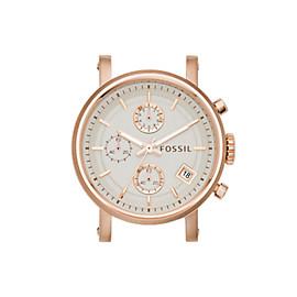 Boîtier de montre chronographe Original Boyfriend en acier inoxydable rosé
