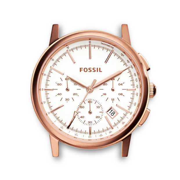 Rowen Chronograph Rose Stainless Steel Watch Case