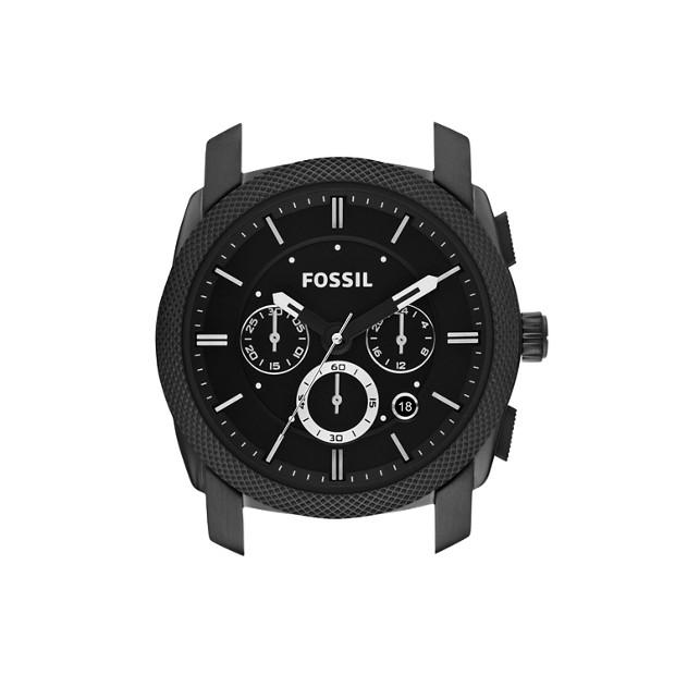 Machine 22mm Stainless Steel Watch Case - Black