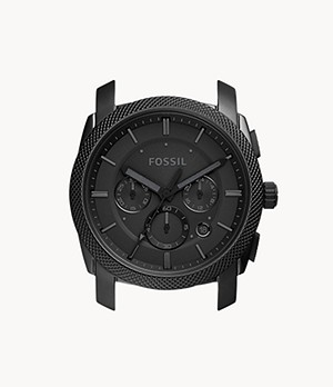 Machine Chronograph Black Stainless Steel Case