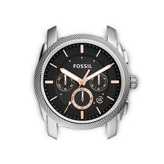 096cd7457818d9 Cassa Machine cronografo in acciaio inossidabile