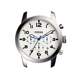 Pilot 54 44 mm Chronograph Stainless Steel Watch Case