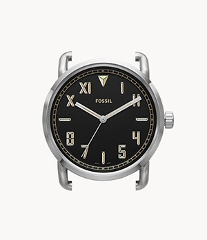 The Commuter Three-Hand Stainless Steel Watch Case