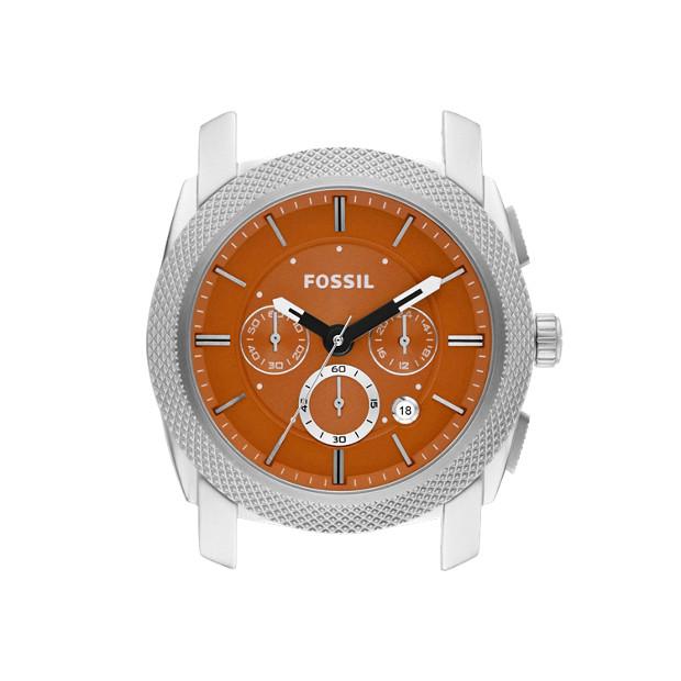 Machine 24mm Stainless Steel Watch Case – Orange