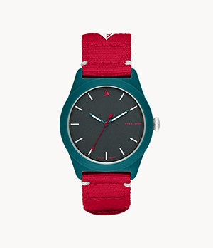 One Eleven SWII Solar Three-Hand Teal rPet Watch