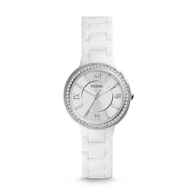 Virginia Ceramic White Watch