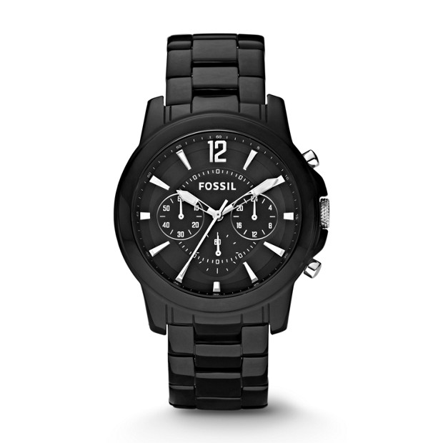 Grant Chronograph Ceramic Black Watch