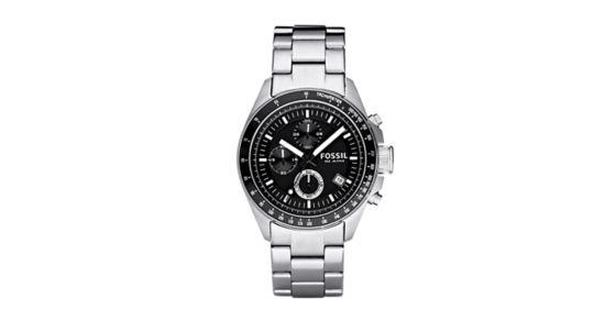 fossil decker watch instructions