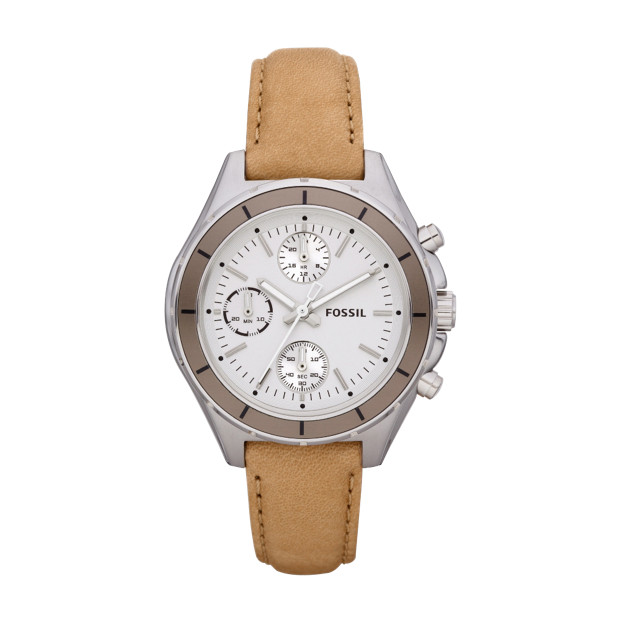 Dylan Leather Watch – Camel