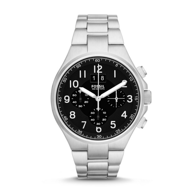 Qualifier Chronograph Stainless Steel Watch