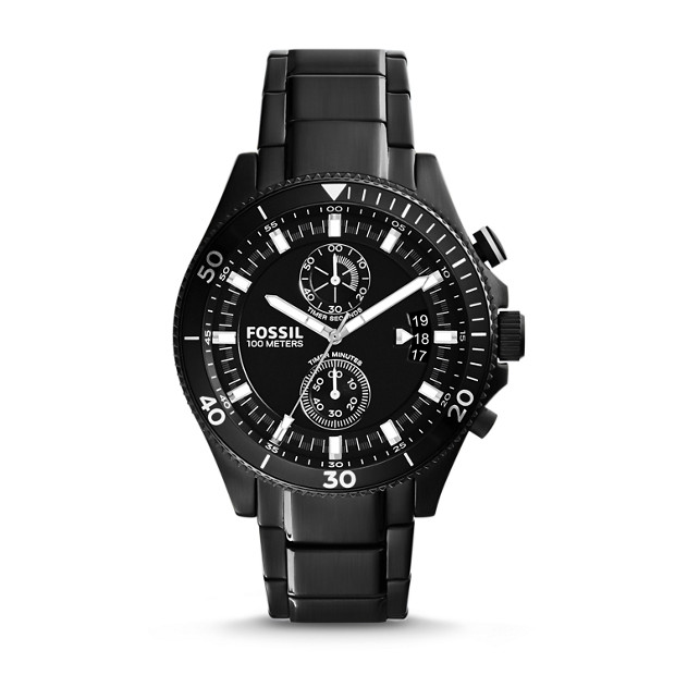 Wakefield Chronograph Stainless Steel Watch - Black