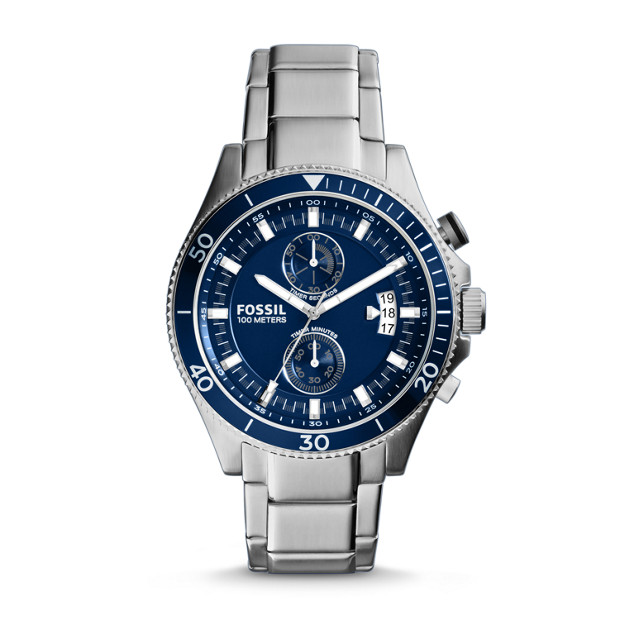 Wakefield Chronograph Stainless Steel Watch