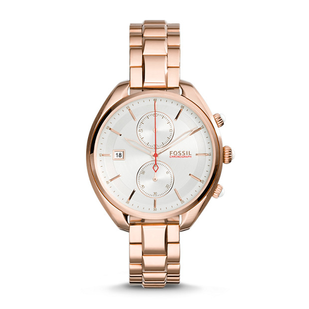 Land Racer Chronograph Rose-Tone Stainless Steel Watch