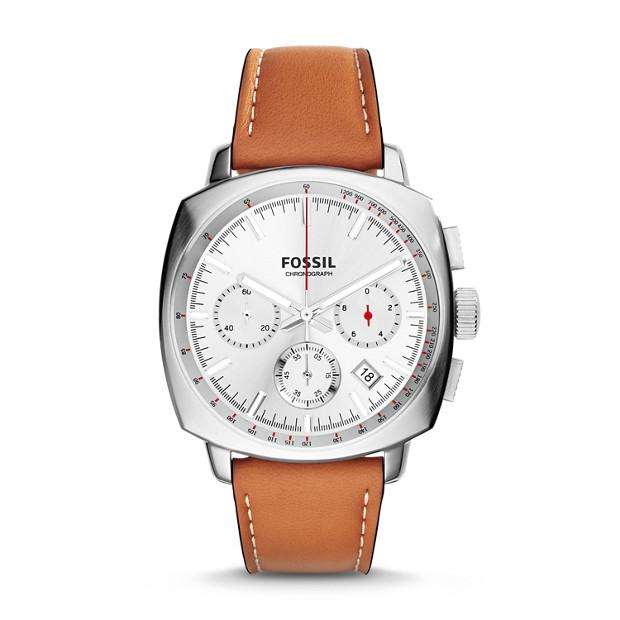 Haywood Chronograph Tan Leather Watch