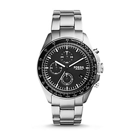 Sport 54 Chronograph Stainless Steel Watch
