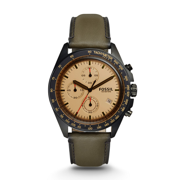 Sport 54 Chronograph Canteen Leather Watch