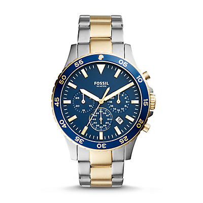 Crewmaster Sport Chronograph Two-Tone Stainless Steel Watch