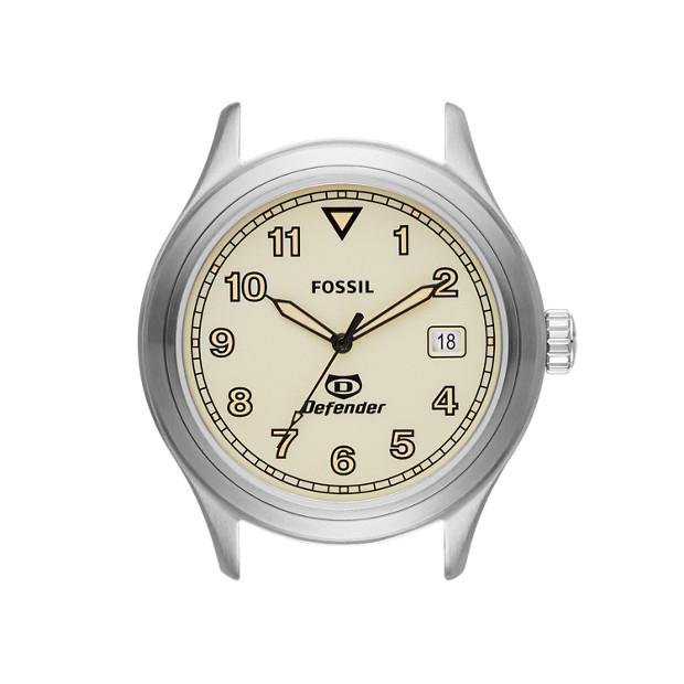 Defender Stainless Steel Watch Case