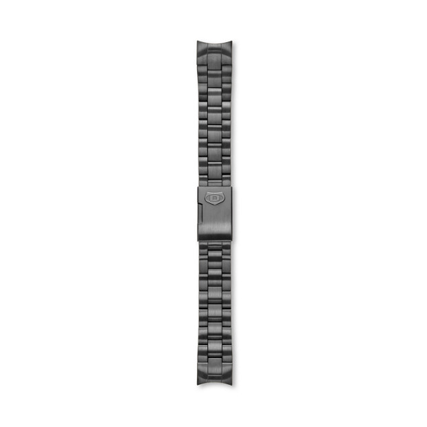Defender Stainless Steel Watch Strap - Smoke