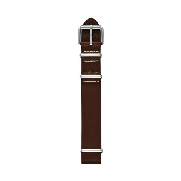 Defender Leather Watch Strap - Brown