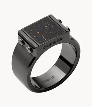 Diesel Stainless Steel Signet Ring