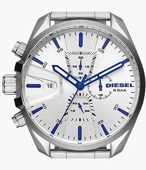 Diesel Men's MS9 Chronograph Stainless Steel Watch