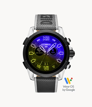Diesel Full Guard 2.5 Touchscreen Smartwatch-Black Nylon