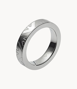 Emporio Armani Men's Stainless Steel Ring