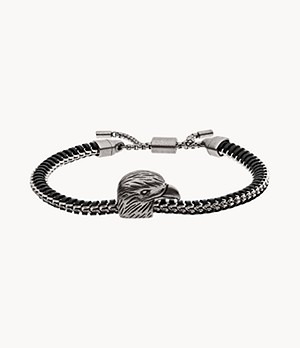 Emporio Armani Men's Eagle Head Stainless Steel ID Bracelet