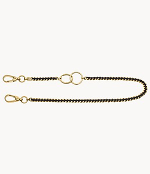 Emporio Armani Gold-Tone Stainless Steel Body Jewelry