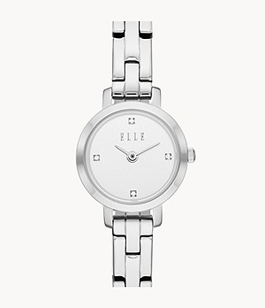 ELLE Marigny Two-Hand Stainless Steel Watch
