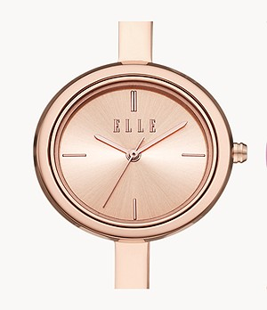 ELLE Ternes Watch and Interchangeable Toprings Gift Set