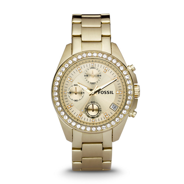 Decker Chronograph Gold-Tone Stainless Steel Watch