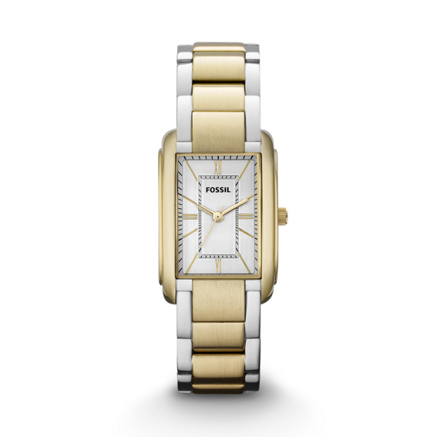 Adele Three Hand Stainless Steel Watch - Two-Tone