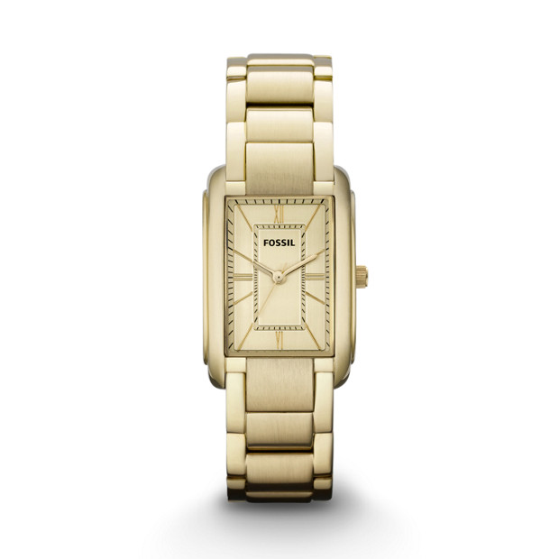 Adele Three Hand Stainless Steel Watch - Gold-Tone