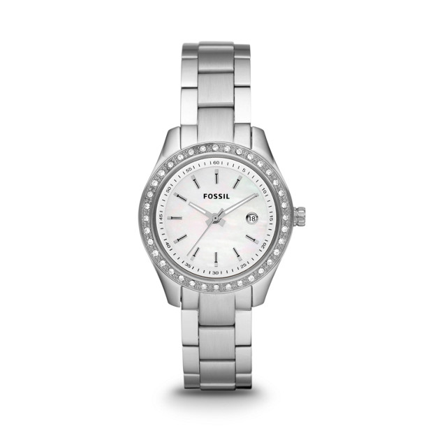 Stella Mini Three-Hand Stainless Steel Watch