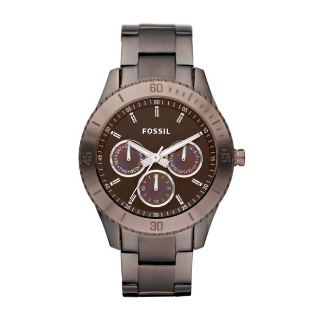 Stella Stainless Steel Watch - Brown