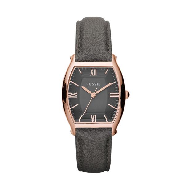 Wallace Leather Watch – Smoke and Rose