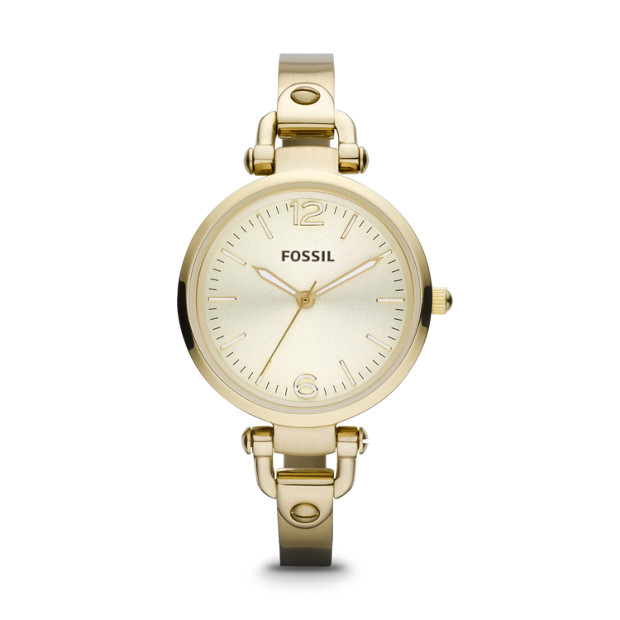 Georgia Gold-Tone Stainless Steel Watch