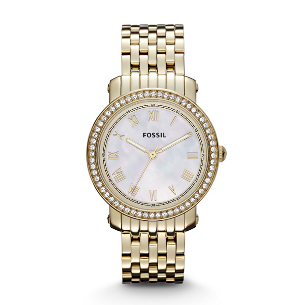 Emma Stainless Steel Watch – Gold-Tone