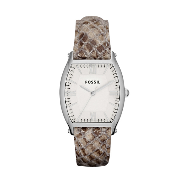 Wallace Leather Watch – Snake Print