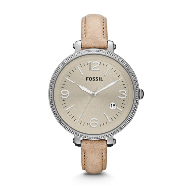 Heather Leather Watch - Sand