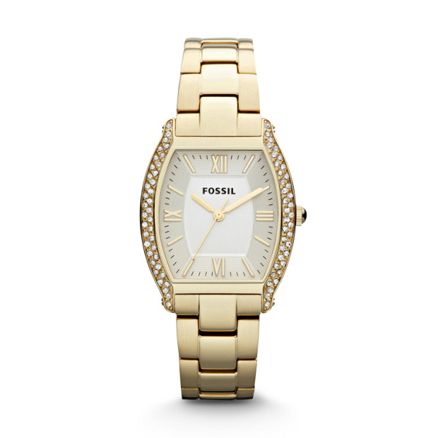 Wallace Three Hand Stainless Steel Watch – Gold-Tone