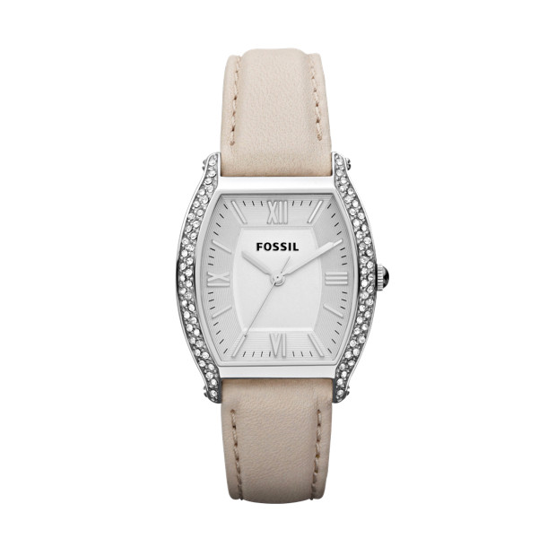 Wallace Leather Watch – Bone