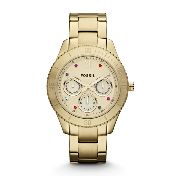 Stella Stainless Steel Watch – Gold-Tone