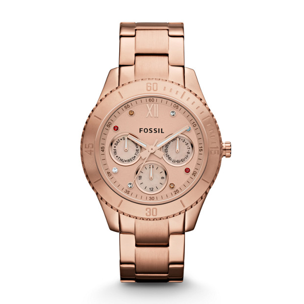 Stella Stainless Steel Watch - Rose