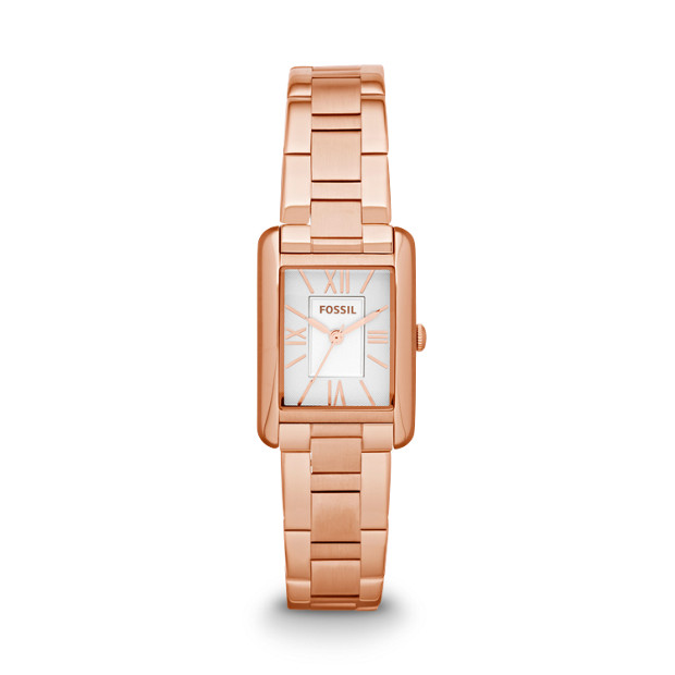 Florence Rose-Tone Stainless Steel Watch