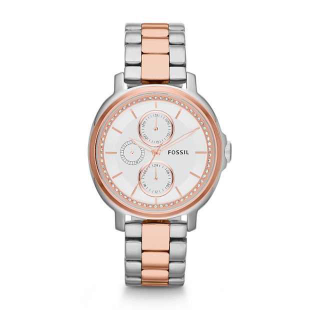 Chelsey Multifunction Two-Tone Stainless Steel Watch