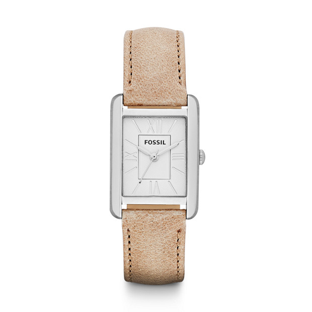 Florence S& Leather Watch