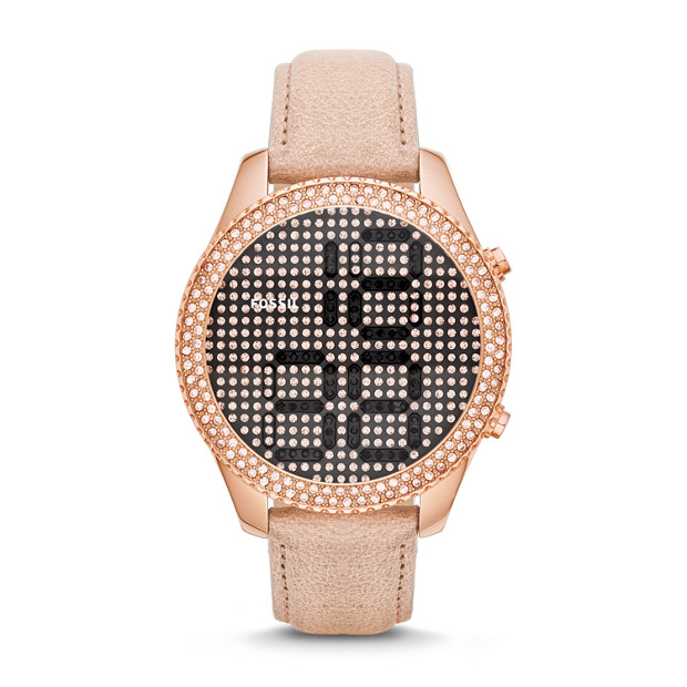 Electro Tick Sand Leather Watch